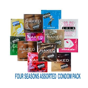 Four Seasons Assorted Condom Pack