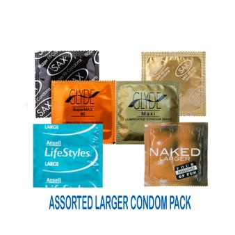 Assorted Larger Sampler Condom Pack