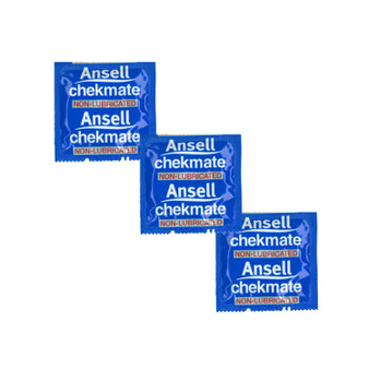 Ansell Chekmate Non Lubricated Condoms