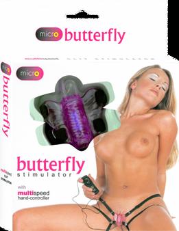 Micro Butterfly Stimulator (Lavender)