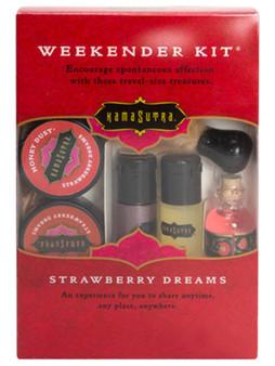 Kama Sutra Weekender Kit (PVC) Strawberry Dreams
