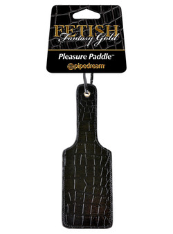 Fetish Fantasy GOLD Love Pleasure Paddle Black