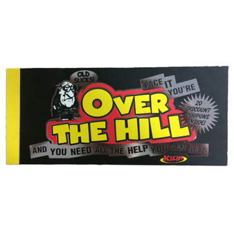 Over the Hill Coupons (20)