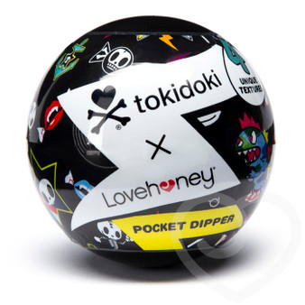 Tokidoki Bones Pocket Dipper textured pleasure cup