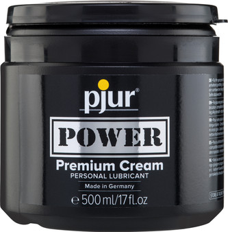 Pjur Power Cream Tub 500ml