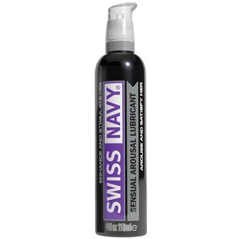 Swiss Navy Sensual Arousal Lubricants (4oz / 118ml)