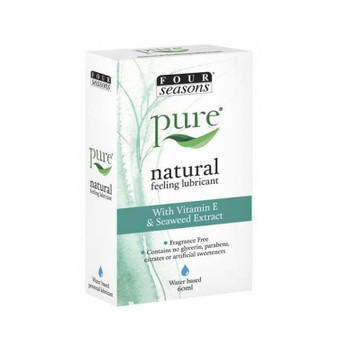 Four Seasons Pure Natural Lubricant (60mL) Expiry Date 09/2021