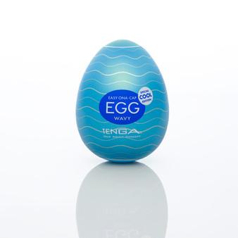 Tenga Cool Egg Masturbator with Ice-cool Menthol Lubricant