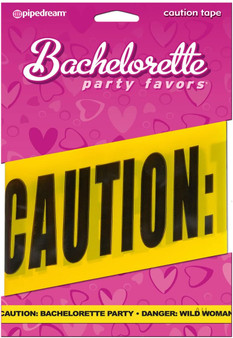 Pipedream Bachelorette Party 20 ft Caution Tape