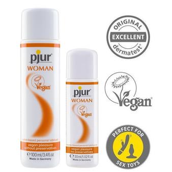 Pjur Woman Vegan Lubricants