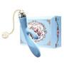 Zalo Rosalie Rabbit Vibrator  Royal Blue