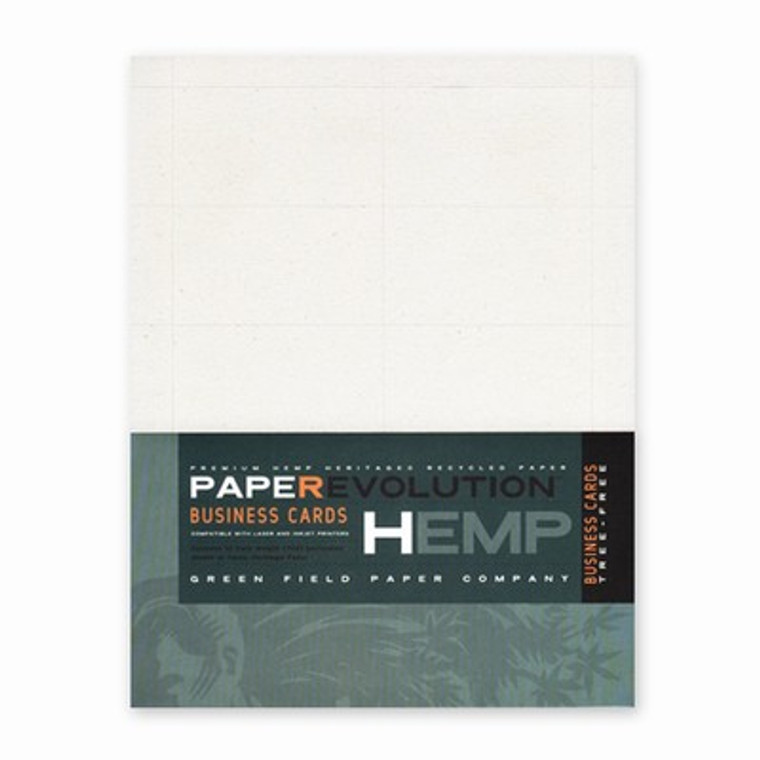 Hemp Paper Business Cards