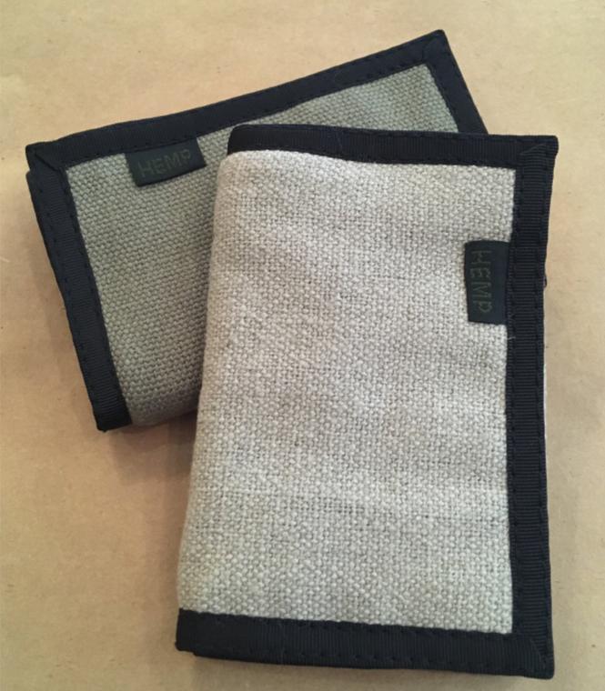 Hempmania Three Fold Wallet