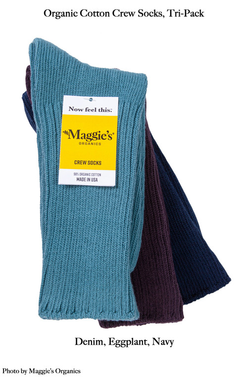 Socks, Maggie's Crew, Tri-Pack