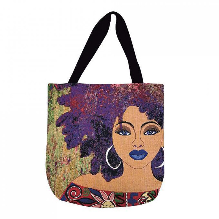 I Am Marvelously Made Woven Tote Bag