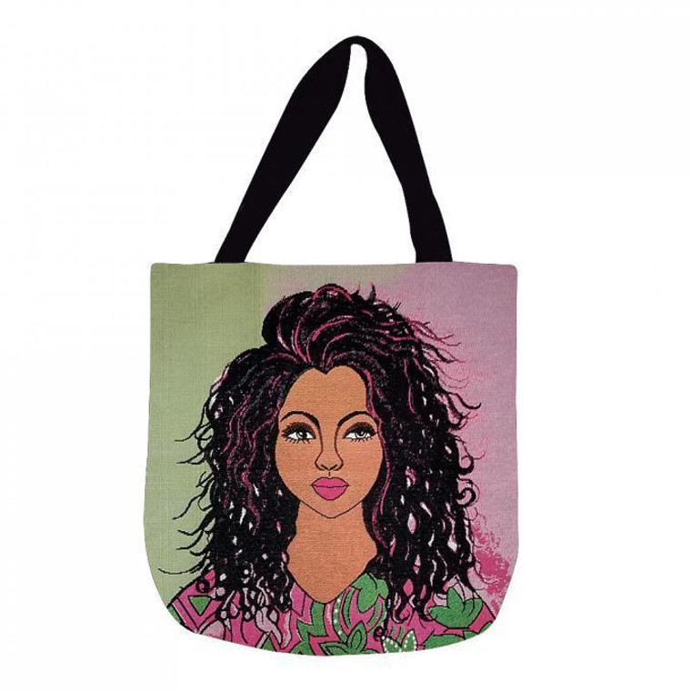 I Am Ambitious Woven Tote Bag