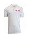 Paulet Unisex WHITE Polo Shirt with House Names