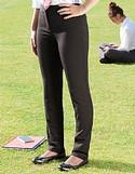 Girls Senior Trimley Black Trousers Slim Fit