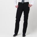 Girls Senior Slim Fit GREY Trousers (DL965)