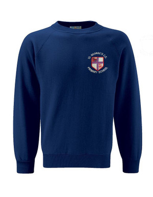 St. Georges CE Crew Neck Sweatshirt