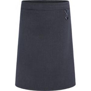 Girls Junior Stretch Heart Skirt GREY