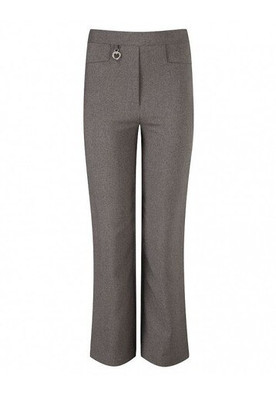 2 Pocket Lycra Heart Trouser Grey