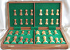 """Championship Classic ROSEWOOD Staunton Wooden Chess Set with 95mm (3.75"""") King and 46cm (18"""") Folding Chess Board"""