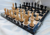 "Centurion Knight Staunton Luxury Chess Pieces Set with 114mm (4.5"") King in Ebony"