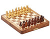 "Magnetic Chess Set Folding Wooden 18cm (7.0"")"