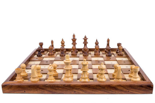 """Chess Set for the Blind or Visually Impaired 33cm (13"""")"""