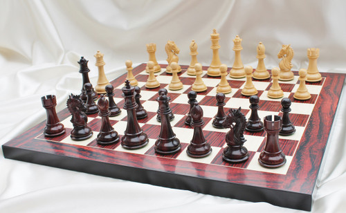The Heritage Knight Staunton Luxury Chess Pieces Set