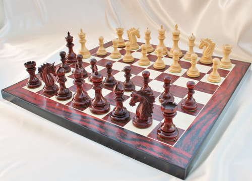 "Centurion Knight Staunton Luxury Chess Pieces Set with 114mm (4.5"") King"