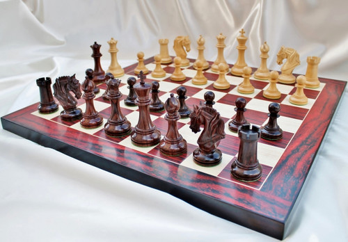 "Legendary Templar Knights Staunton Luxury Chess Pieces Set with 108mm (4.25"") King"