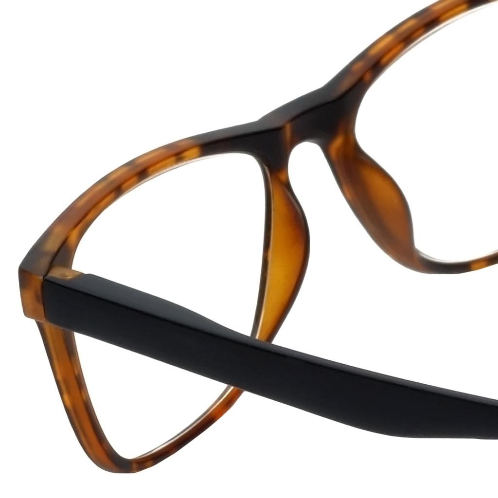 Magz Astoria Magnetic Bi-Focal Eyeglasses in Tortoise