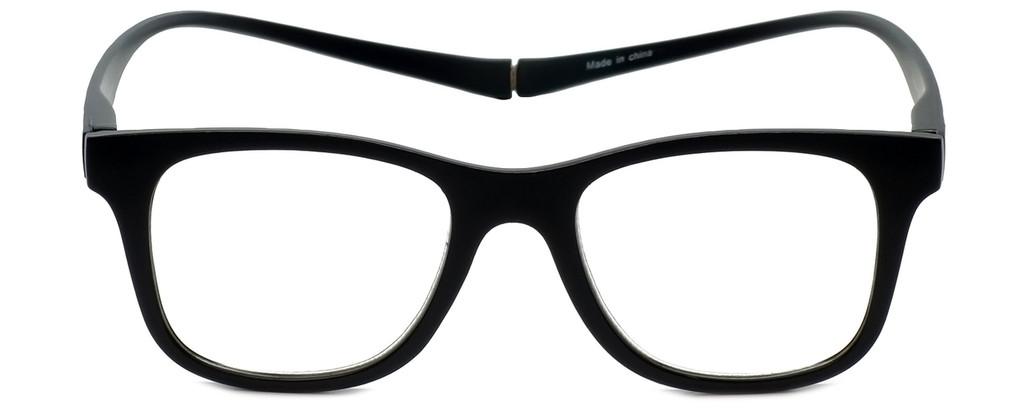 Magz Chelsea Magnetic Bi-Focal Eyeglasses in Black