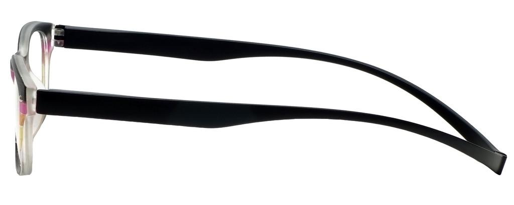 Magz Greenwich Magnetic Bi-Focal Eyeglasses in Multi Black