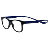 Magz Chelsea Magnetic Progressive Eyeglasses in Black Blue