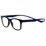 Magz Chelsea Magnetic Rx S.V. Eyeglasses in Black Blue
