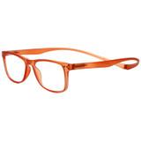 Magz Astoria Magnetic Progressive Eyeglasses in Orange