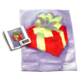 Holiday Christmas Theme Cleaning Cloth Gift