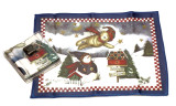 Holiday Christmas Theme Cleaning Cloth Winter Blessing