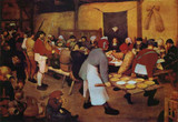 Famous Artwork Theme Cleaning Cloth 'The Peasant Wedding' by Bruegel