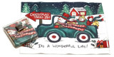 Holiday Christmas Theme Cleaning Cloth, A Wonderful Life