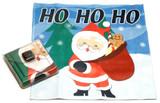 Holiday Christmas Theme Cleaning Cloth, Ho Ho Ho!