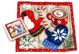 Holiday Christmas Theme Cleaning Cloth, Mittens