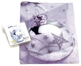 Holiday Christmas Theme Cleaning Cloth, Bauble