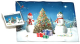 Holiday Christmas Theme Cleaning Cloth, All Is Bright