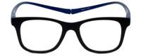 Magz Chelsea Magnetic Bi-Focal Eyeglasses in Black Blue