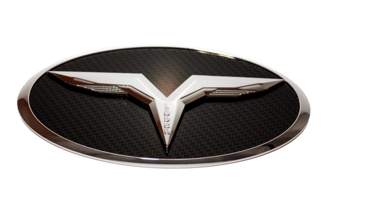 LODEN 3D T Badge for Kia SUV's Sorento Sportage Sedona