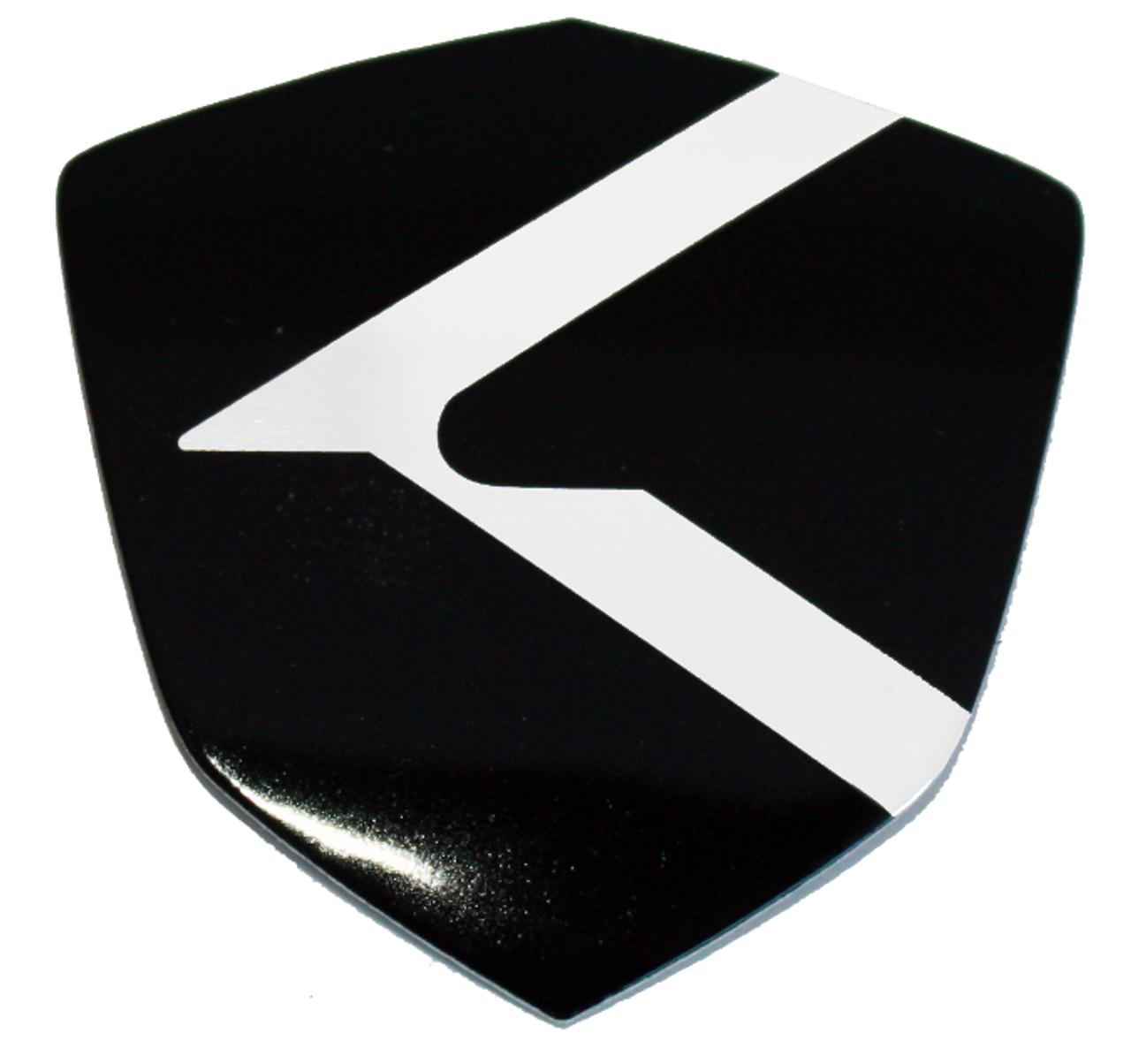K Shield emblem badge logo for Kia and Hyundai models Optima Cadenza K900 Forte Rio Sorento Sportage